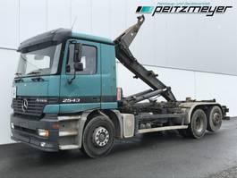 containersysteem vrachtwagen Mercedes-Benz Actros 2543 05.2022 L 6x2 Multilift HL 26056 Knick 2000