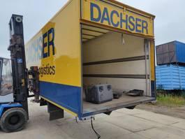 overige truck uitrusting Gesloten koffer Laadbak / opslag / bak / koffer camion