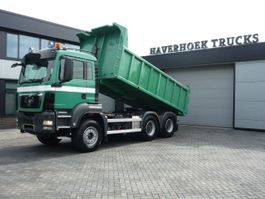 kipper vrachtwagen MAN TGS 33 6x4 Euro 4 Tipper Tractor 2009