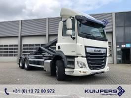 containersysteem vrachtwagen DAF CF 430 FAS 6x2 Liftas / 2021 Nieuw !! / VDL Haaksysteem 25 Ton / TE HUUR 2021
