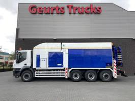 kolkenzuiger vrachtwagen Iveco Trakker 450 8X4 TRIDEM + MTS DINO 5 SAUGBAGGER/SUCTIONEXCAVATOR/GRONDZUIGER 2010