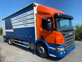 schuifzeil vrachtwagen Scania P280 - 2010 - EURO 5 - MANUAL TRANSMISSION - LOADLIFT 2010