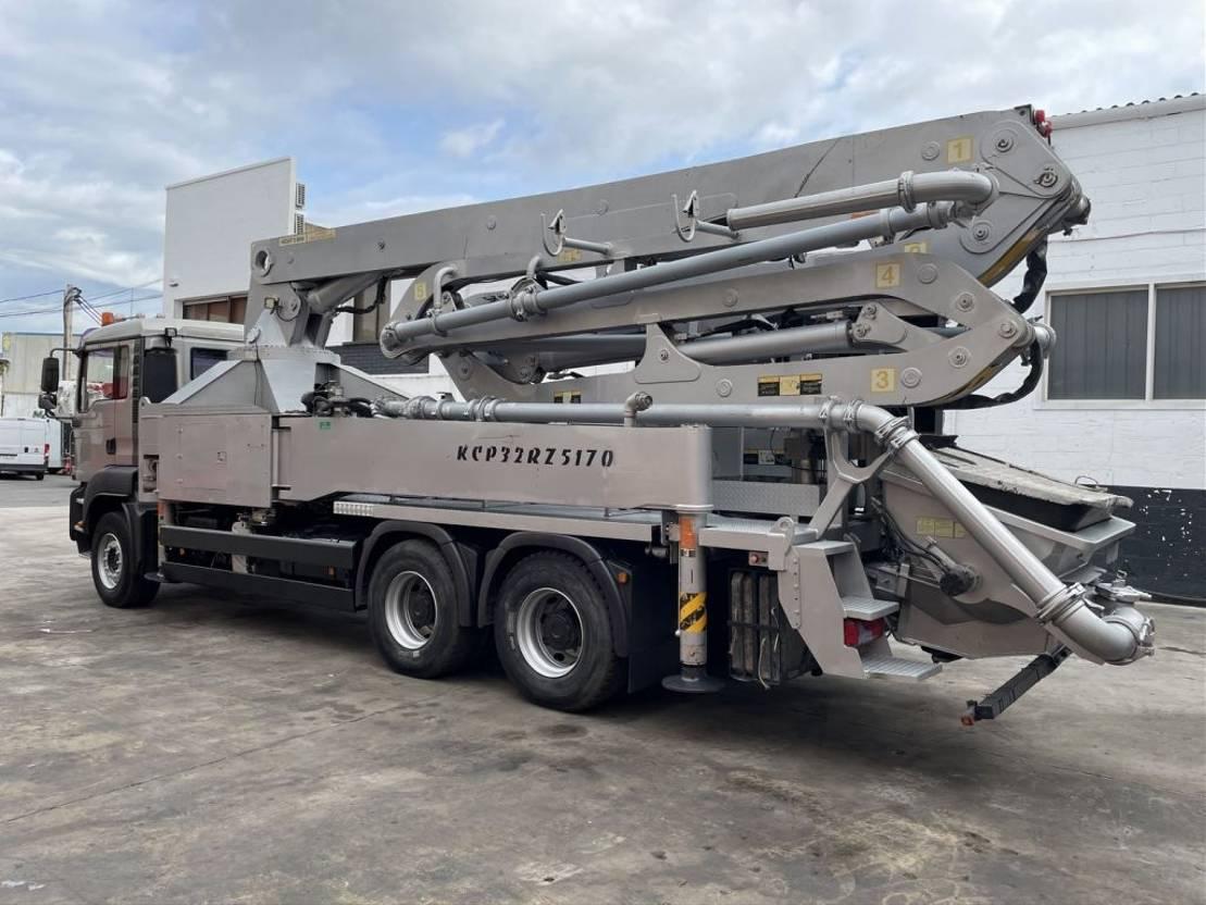 betonpomp vrachtwagen MAN TGS 33 Kcp 32 RZ -5