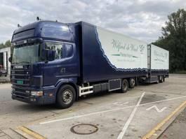 gesloten opbouw aanhanger Scania R144 new apk !! mot!! 1999