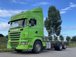chassis cabine vrachtwagen Scania R620-V8 Scania R620 highline /4,30/  manual / retarder/ full air / 2013