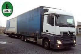 huifzeil vrachtwagen Mercedes-Benz Actros 2542 Jumbo Euro 6 inkl. Tandem Anh. 2013