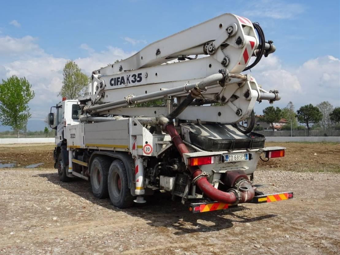 betonpomp vrachtwagen Iveco Eurotrakker 380 EUROTRAKKER  380E38