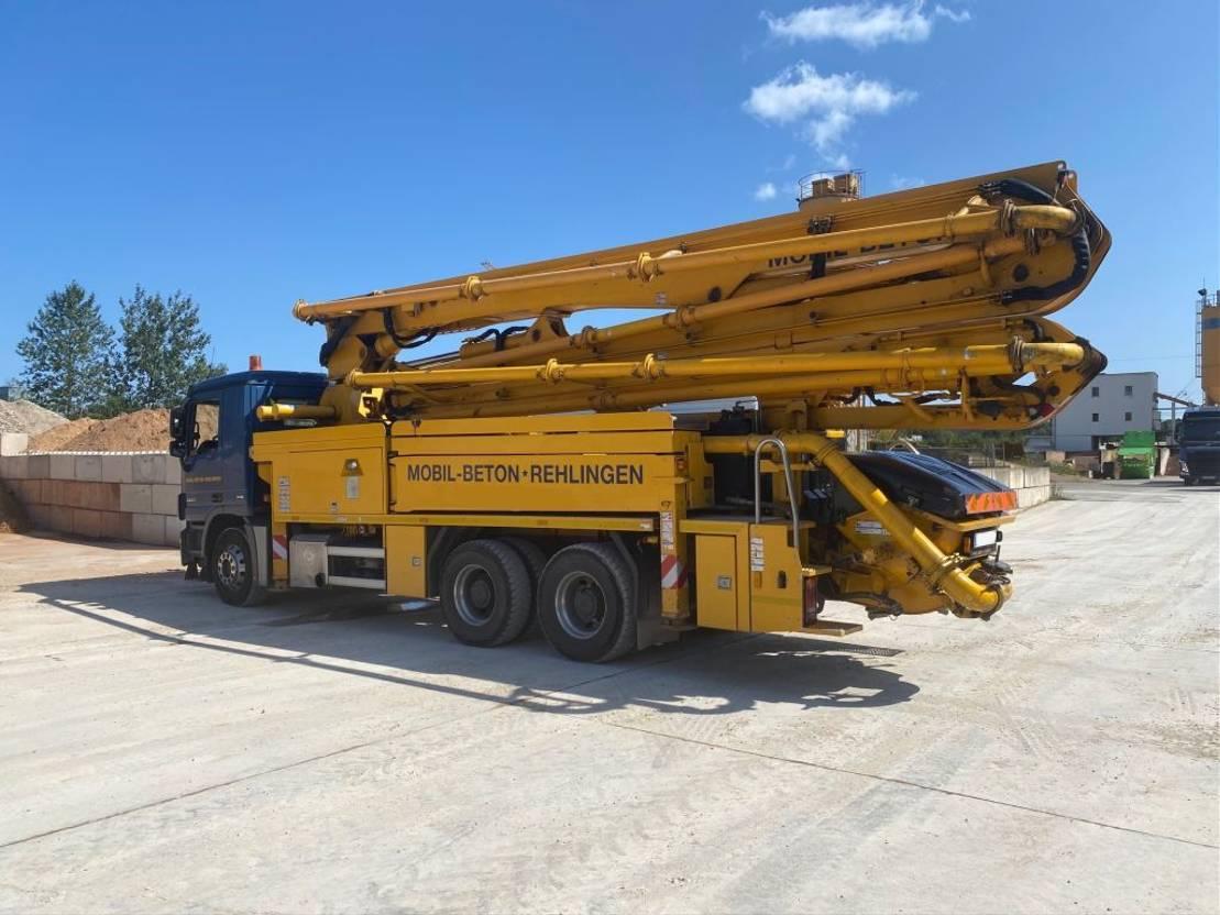 betonpomp vrachtwagen Mercedes-Benz 2641 Putzmeister 36m - BSF36.16 HLS - Euro 5 2012