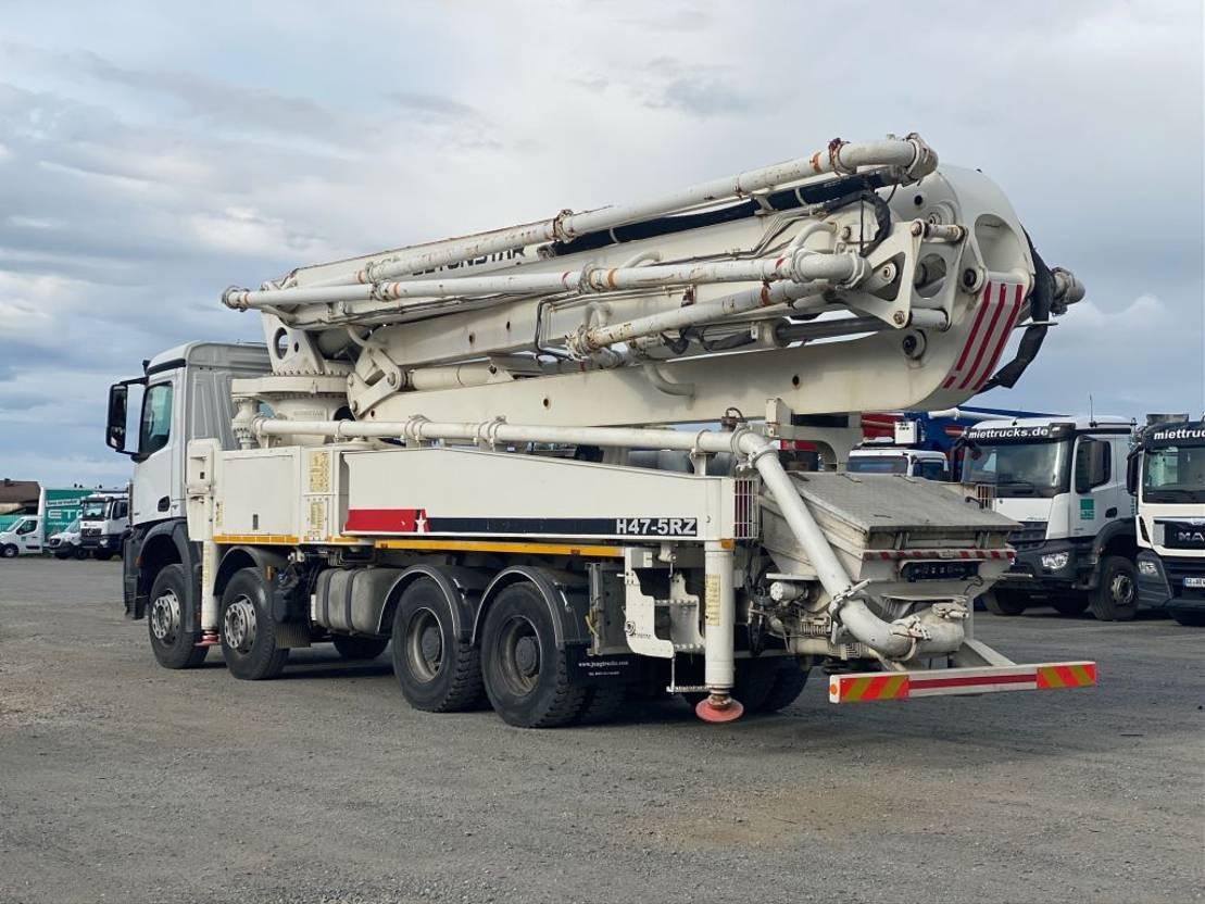 betonpomp vrachtwagen Mercedes-Benz Arocs 4142 Betonstar 47m /5 - Austrian Register - Euro 6 2017