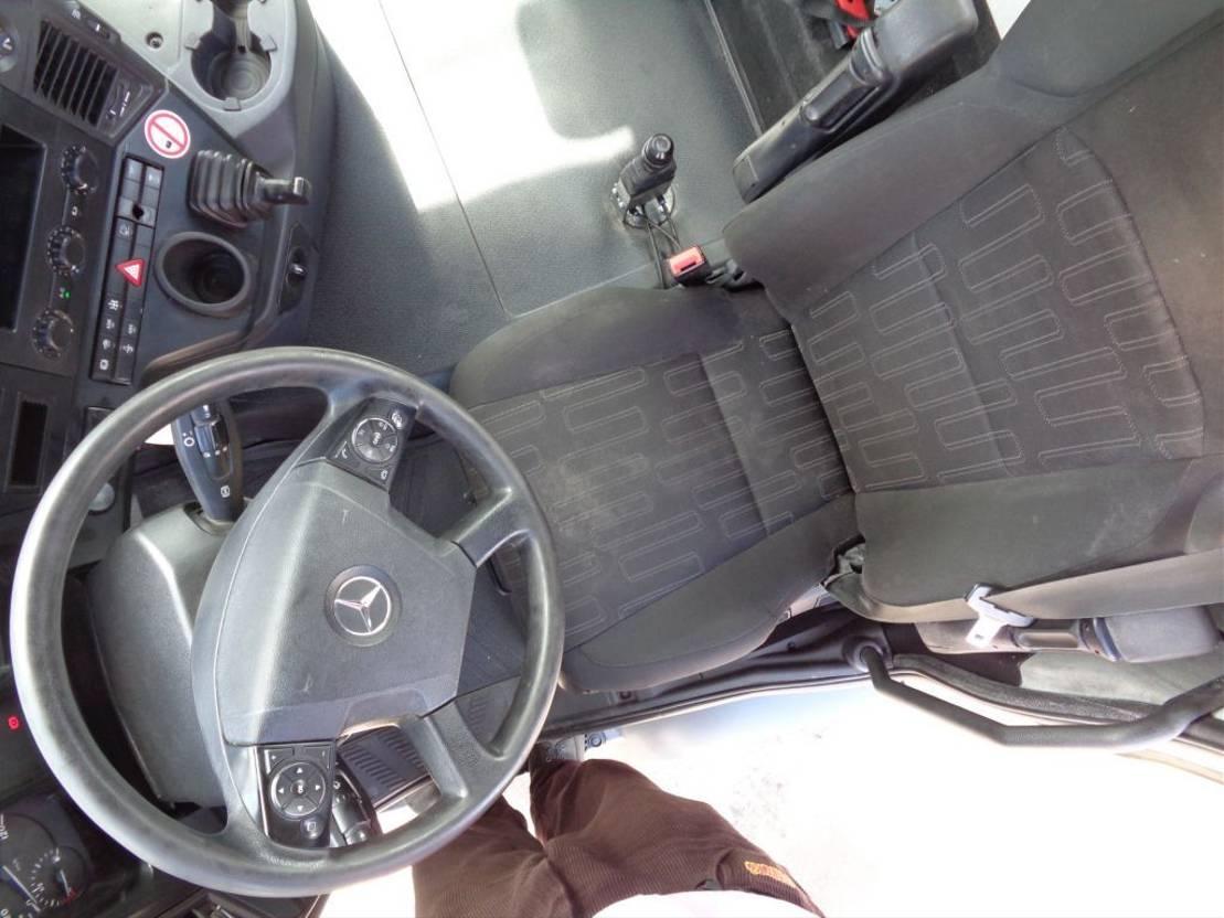 chassis cabine vrachtwagen Mercedes-Benz Arocs 4145 + Euro 6 + pto 2017