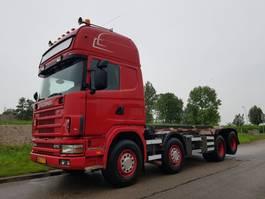 containersysteem vrachtwagen Scania R124 8x2 NCH Manual Retarder 2003