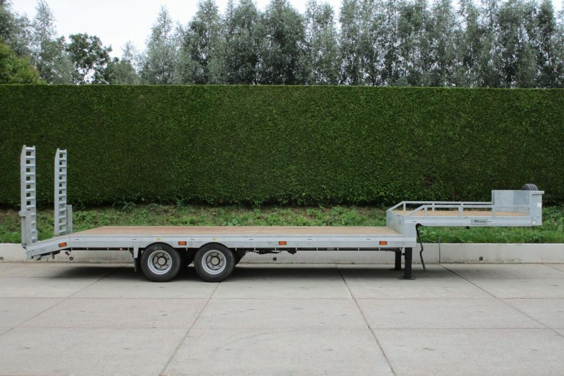 semi dieplader oplegger Veldhuizen 10,0-tons Semi-dieplader oplegger 2020