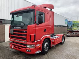 standaard trekker Scania R144 Low roof - top condition!!! From Italy.