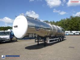 tankoplegger Magyar Chemical tank inox 57.5m3 / 3 comp 1994