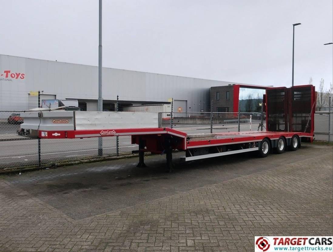 semi dieplader oplegger Nooteboom OSDS-41-03 Semi LowLoader trailer w/Hydraulic ramps of 400cm 2013