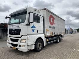 wissellaadbaksysteem vrachtwagen MAN TGX 26 .460 6x2 BDF Systeem with lift 2012