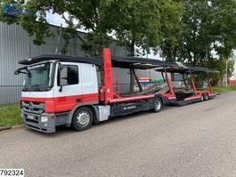 autotransporter vrachtwagen Mercedes-Benz Actros 1841 EURO 5 EEV, Lohr, Multilohr, Retarder, Combi 2013