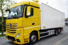 koelwagen vrachtwagen Mercedes-Benz Actros 2545 , E6, 6x2, 19 EPAL refrigerator 2017