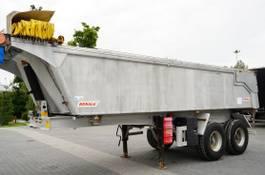 kipper oplegger Benalu All aluminum BENALU 21 M3 tipper semi-trailer with springs 2011