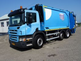 vuilkar camion Scania P280 geesink GPM111 SYSTEEM 2009