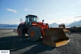 wiellader Hitachi ZW310 Wheel loader w / Weight and 2 buckets 2013