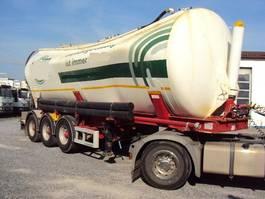 silo oplegger Kässbohrer 3 achs Kippsilo 40m³ luft BPW Vakuumschaden 2011