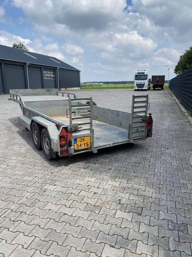 semi dieplader oplegger Veldhuizen BE Trailer Kuipdieplader 2010