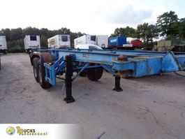 container chassis oplegger Krone SZC 16 + 2 AXLE+BLAD-BLAD 1983