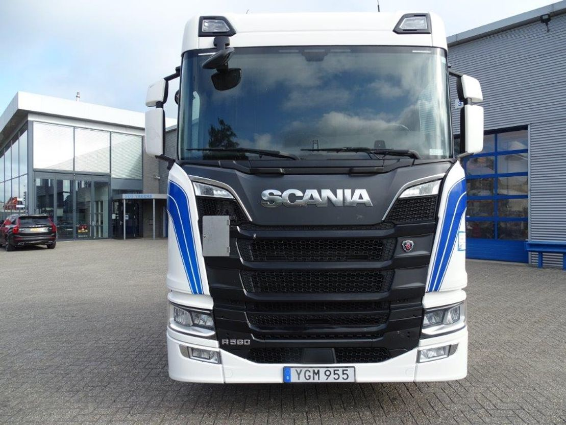 chassis cabine vrachtwagen Scania R580 N.G.S. / AUTOMATIC / BOOGIE / EURO-6 / 2017 2017