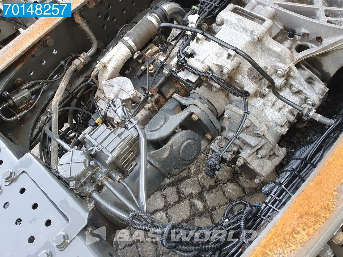 chassis cabine vrachtwagen Mercedes-Benz Actros 2551 6X2 Retarder Liftachse Xenon StreamSpace Euro 5 2013