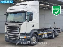 wissellaadbaksysteem vrachtwagen Scania R450 6X2 German Truck Retarder ACC Liftachse LDWS Euro 6 2017