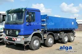 kipper vrachtwagen Mercedes-Benz Actros 3241 K 8x4, Klima, Blattfederung 2005