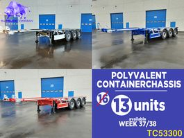 container chassis oplegger Renders Container Transport