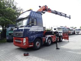 zware last trekker Volvo FH 13 8X4 mit Kran Palfinger 60 T/M 2009