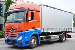 schuifzeil vrachtwagen Mercedes-Benz Actros 1842 , E6, 4x2, Frame 7m, BDF, GigaSpace, Taprulin BDF 18 2018