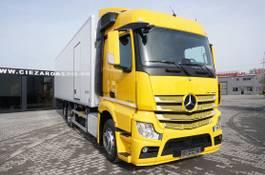 koelwagen vrachtwagen Mercedes-Benz Actros 2542 , E6 , 6x2 , 22 EPAL , Side door , lift axle , Carri 2017
