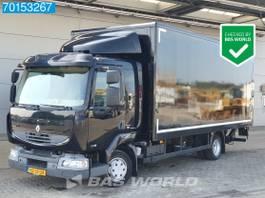bakwagen vrachtwagen Renault Midlum 180 4X2 NL-Truck APK tot 27-05-2022 Ladebordwand Euro 5 2011