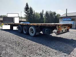 platte oplegger LAG 3 axles bpw-disc brakes-lift axle-good tyres