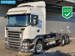wissellaadbaksysteem vrachtwagen Scania R450 6X2 Retarder Liftachse ACC Euro 6 2017
