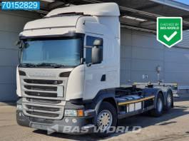 wissellaadbaksysteem vrachtwagen Scania R450 6X2 Retarder Liftachse ACC LDWS Euro 6 2017