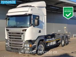wissellaadbaksysteem vrachtwagen Scania R450 6X2 Retarder ACC Liftachse LDWS 2017