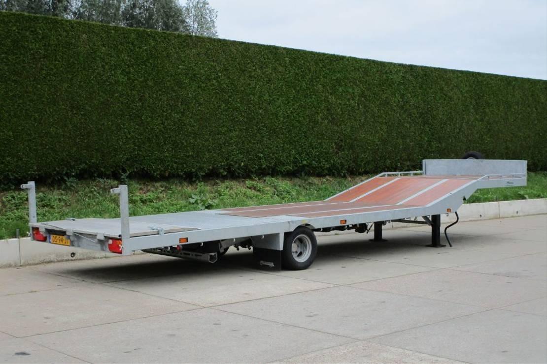 semi dieplader oplegger Veldhuizen 4,6-tons Knikkende semi-dieplader oplegger 2021