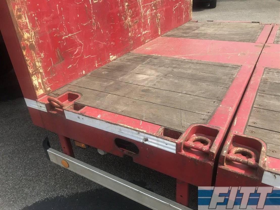 semi dieplader oplegger ES-GE 2x 4ass semi dieplader, 5mtr uitschuifbaar - 285 2009