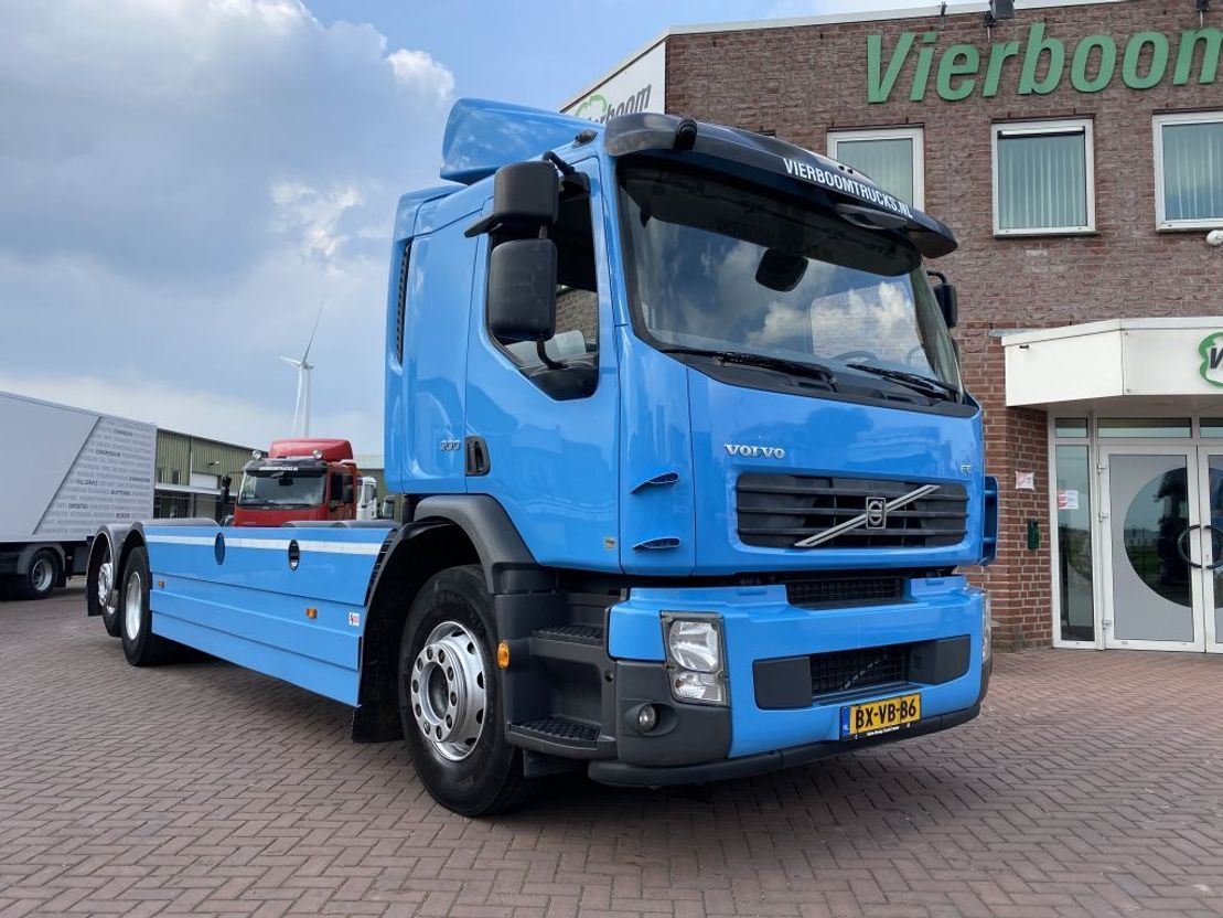 chassis cabine vrachtwagen Volvo FE 300 6X2 CHASSIS EURO5 MANUAL CHASSIS (2011) TOP CONDITION 2010