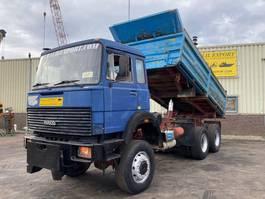 kipper vrachtwagen Iveco M256D Kipper 6x6 V8 Big Axle's Good Condition 1990