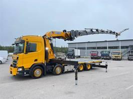 kraanwagen Scania R540 8x2 2021