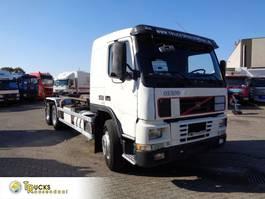 containersysteem vrachtwagen Volvo FM 12 + Hook system + 6X2 + blad-blad+euro 2 1999