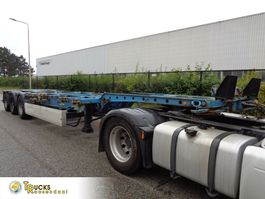 container chassis oplegger Krone SD + 3 AXLE 2007