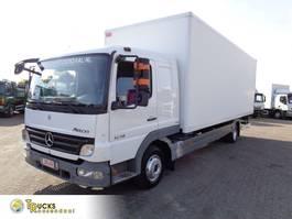 bakwagen vrachtwagen Mercedes-Benz Atego 1218 + Dhollandia Lift 2009