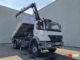 platform vrachtwagen Mercedes-Benz Axor 1833 hiab 112/2 Remote 2008